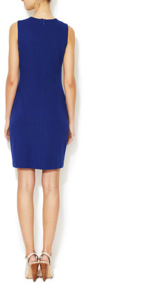 Cynthia Steffe Natalie Jersey Embroidered Dress