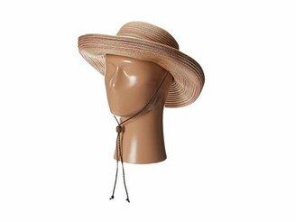 San Diego Hat Company MXM1014 Mixed Braid Kettle Brim Hat
