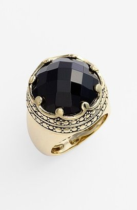 Ariella Collection 'Baroque' Stone Dome Ring (Nordstrom Exclusive)