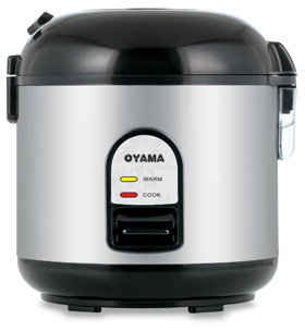 Bed Bath & Beyond Oyama 5-Cup Stainless Steel Rice Cooker