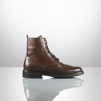 Ralph Lauren Mundesley Distressed Boot