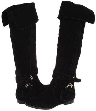 Daniblack Renny (Black Soft Calf Suede) - Footwear