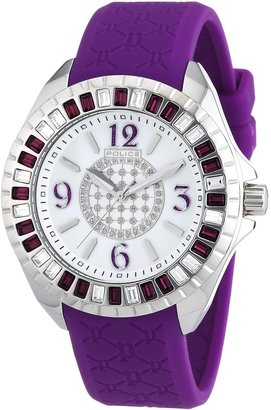 Police Women's ' Jade Quartz Stainless Steel and Rubber Dress Watch