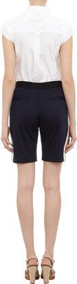 RHIÉ Confetti Tuxedo-Stripe Jersey Shorts