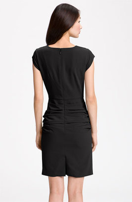 BCBGMAXAZRIA Cap Sleeve Sheath Dress