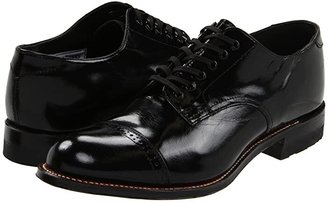 Stacy Adams Madison (Cap Toe) (Black) Men's Dress Flat Shoes