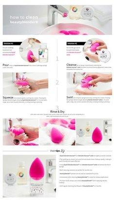 Beautyblender Makeup Sponge Applicator Duo & Cleanser ($58 Value)