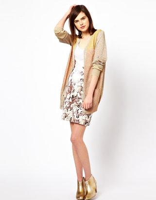 Emma Cook Denim Print Skirt
