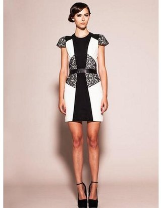 KahriAnne Kahri by Kerr Buttons Remix Dress