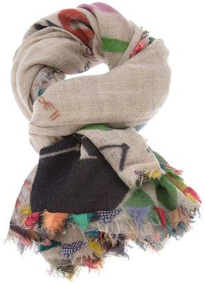 Faliero Sarti 'Kefia' timer scarf