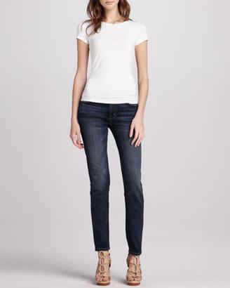 Current/Elliott The Mid-Rise Skinny Carousel Jeans