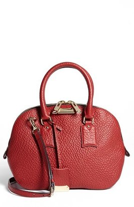 Burberry 'Small Heritage Orchard' Leather Satchel