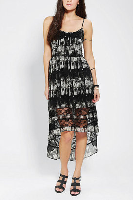 Urban Outfitters Band Of Gypsies Chiffon High/Low Dress