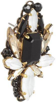 Erickson Beamon Girls On Film gold-plated Swarovski crystal earrings