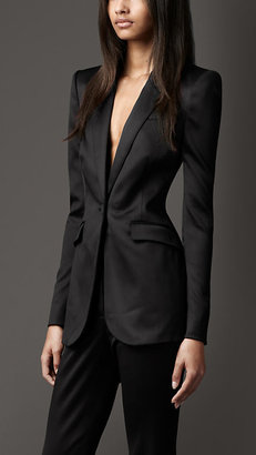 Burberry Tailored Tuxedo Jacket