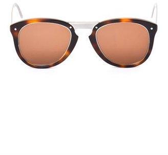Cerruti Paris Round-frame sunglasses