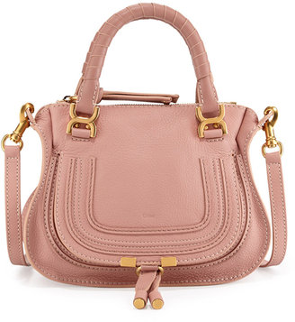 Chloé Marcie Mini Shoulder Bag, Pink