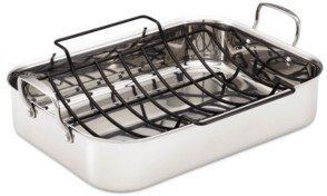 Anolon Tri-Ply Roaster with Roasting Rack