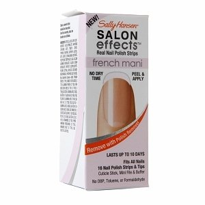 Sally Hansen Salon Effects French Mani Real Nail Polish Strips, French Twist
