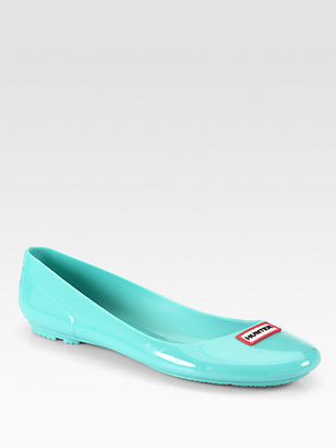 Hunter Romilly Jelly Ballet Flats