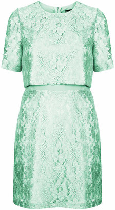Topshop Sixties lace shift dress