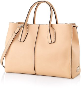 Tod's D-Styling Medium Leather Shopping Bag