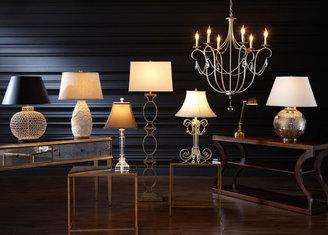 Ethan Allen Owen Ringed Floor Lamp