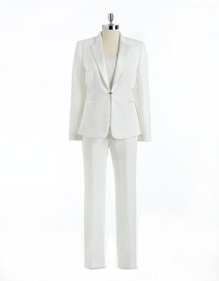 Tahari ARTHUR S. LEVINE Petite Juliette Three-Piece Pants Suit
