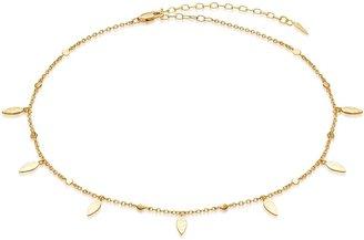 Missoma Leaf 18kt Gold Vermeil Choker