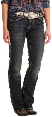 Wrangler Rock 47 Rhinestone Pocket Jeans - Low Rise (For Women) $19.99 thestylecure.com