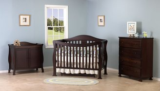 DaVinci Parker 2-Door Changing Table - Coffee