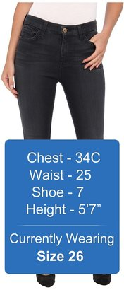 7 For All Mankind The High Waist Ankle Skinny w/ Contour Waistband in Bastille Grey Women's Jeans