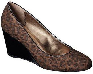 Merona Women's Melinda Wedge - Leopard