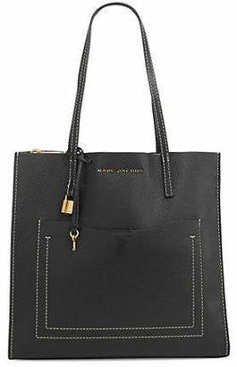Marc Jacobs Grind Pocket Leather Tote