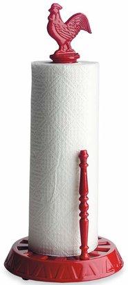 Old Dutch International Red Rooster Paper Towel Holder