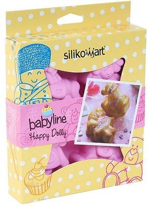Silikomart Silicone Baby Line Multi Cake Pan, Happy Dolly