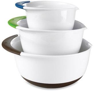 Good Grips OXO 3-Piece Mixing Bowl Set