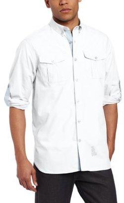 Rocawear Men's Long Sleeve Field Shirt