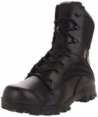 Bates Footwear Men's 8 Inch Leather Nylon Side Zip Uniform Boot