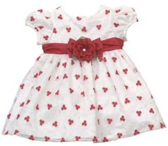 Rare Editions Baby-Girls Infant Embroidered Dress