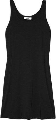 LnA Breaker modal-blend jersey tank dress