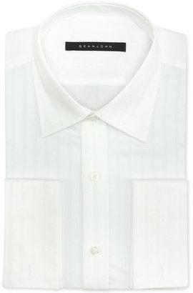 Sean John Men's Tonal French-Cuff Classic-Fit Dress Shirt