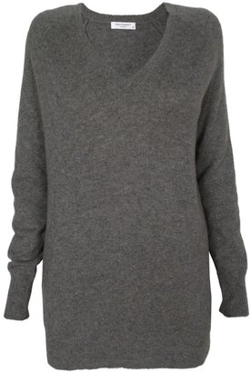 Equipment Grey Asher V-Neck Sweater