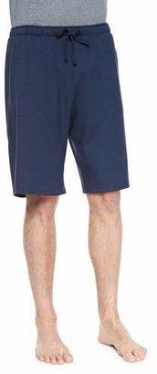 Derek Rose Basel Jersey Lounge Shorts, Navy $95 thestylecure.com