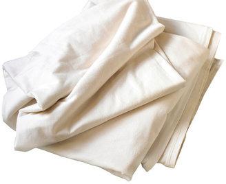Coyuchi Jersey Sheet Set Twin Ivory