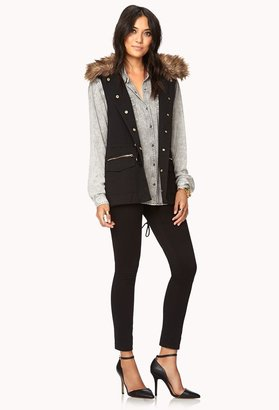 Forever 21 Contemporary City-Chic Utility vest