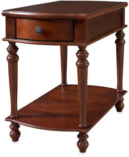 Bed Bath & Beyond Cherry Chairside Table with Drawer