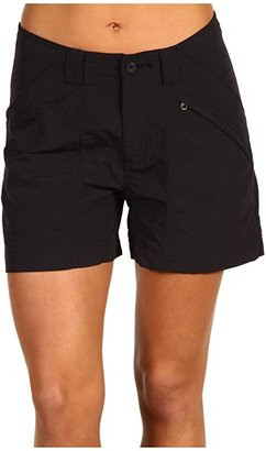 Royal Robbins Backcountry Short (Jet Black) Women's Shorts