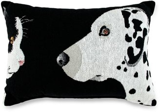 Bed Bath & Beyond PB Paws Pet Collection Best Friends Tapestry Decorative Pillows Black & White (Set of 2)