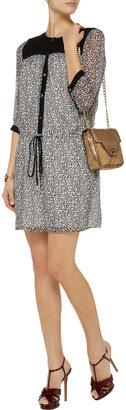 Diane von Furstenberg Marcy printed silk-chiffon dress